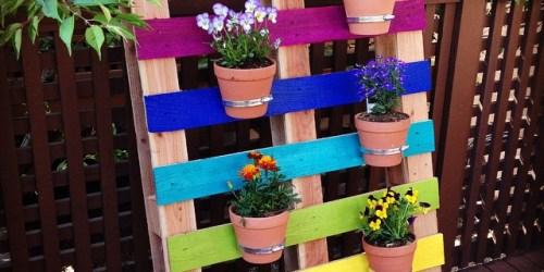 DIY Flower Pallet Design