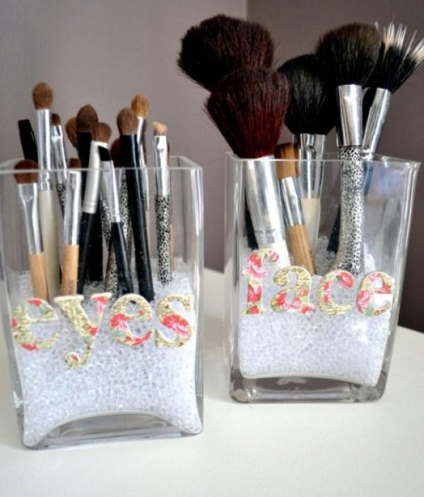 DIY Brushes Organize