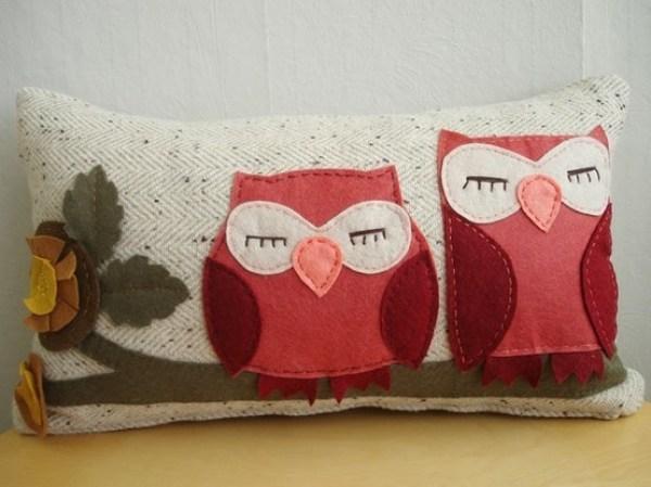 DIY Little Owls Pilow