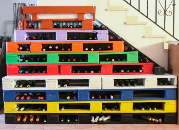 DIY Colorful Stairs