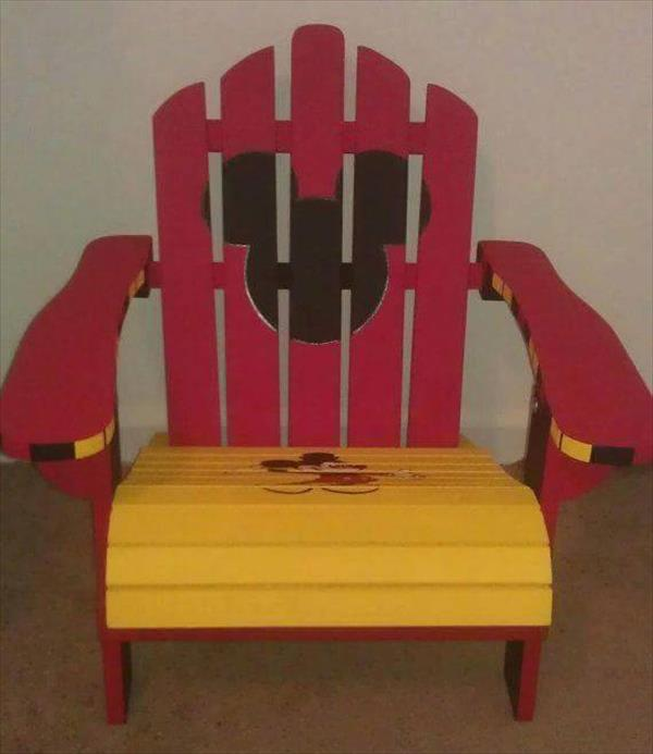 How to make kids chair