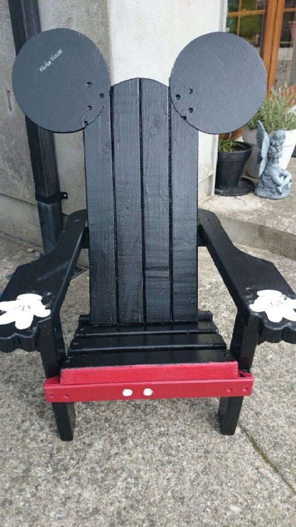 DIY Mickey Chair
