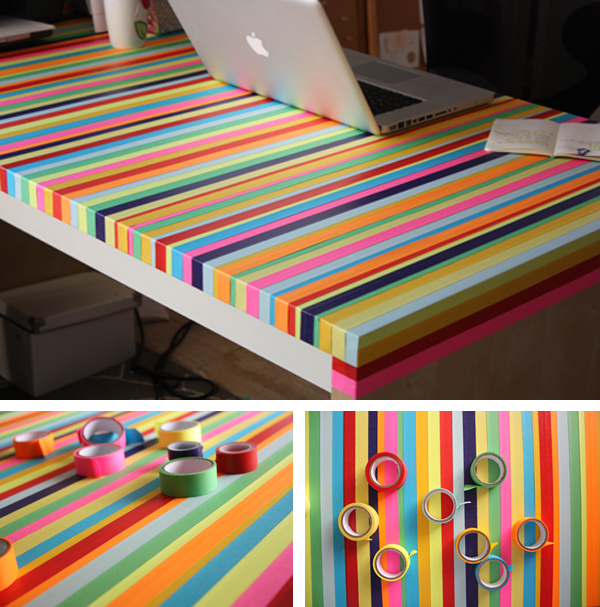 DIY Creative Desk Tape