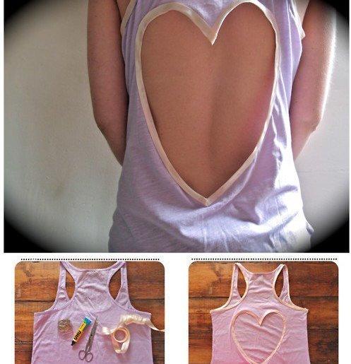 DIY Romantic Shirt