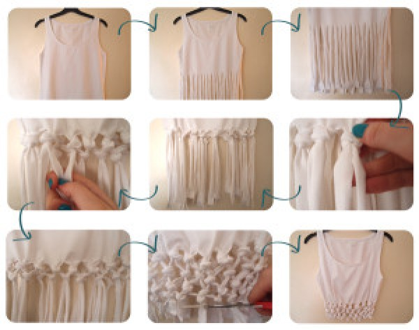 DIY White Shirts