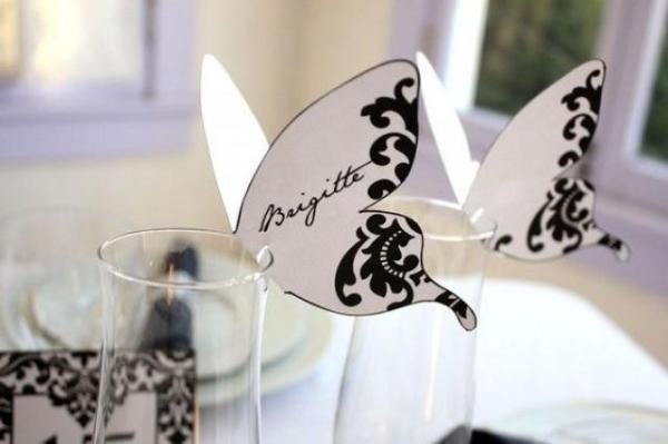 DIY Name on Butterfly