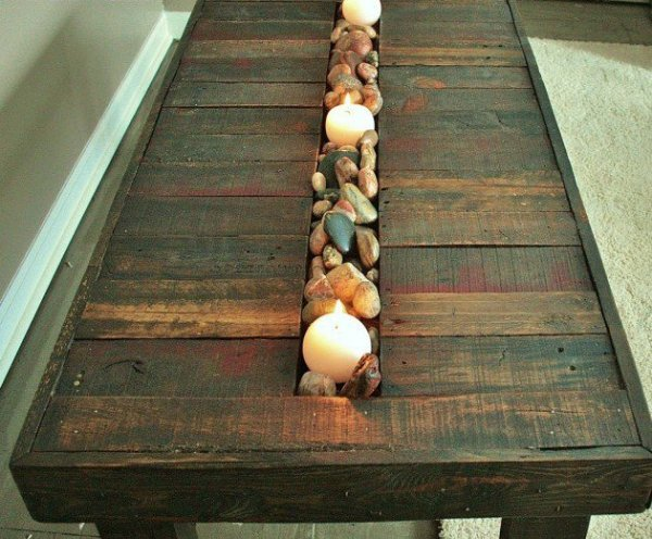 decorate your home with stones