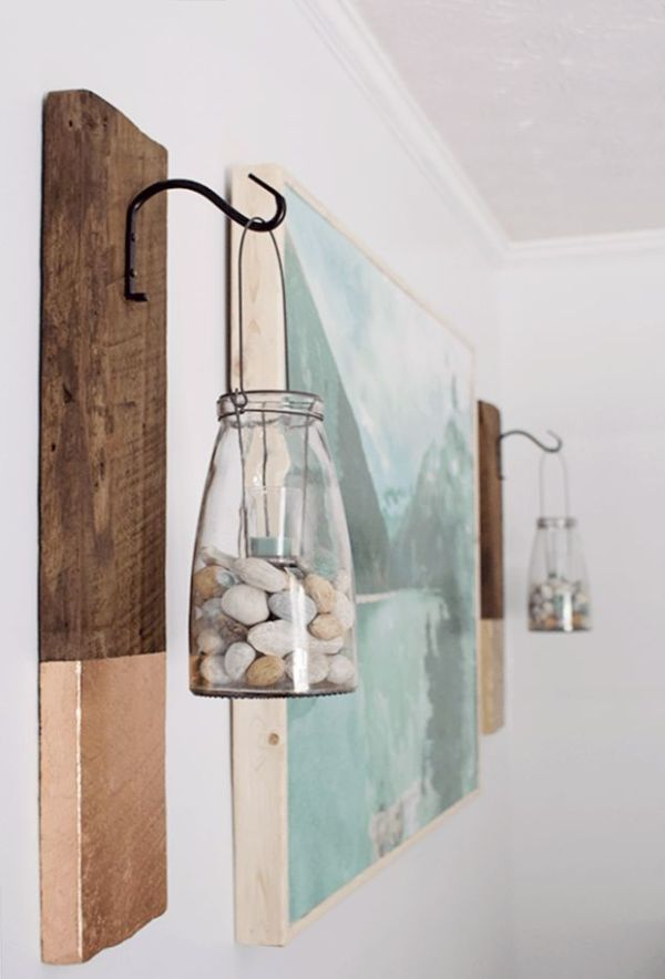 how to decor home with stones