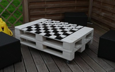 Chess Pallet Table