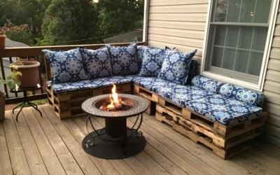 Turn old pallets into patio furniture easy diy and crafts diy turn old pallets into amazing patio furniture solutioingenieria Gallery