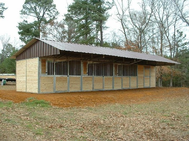 Inexpensive mini horse shelters barns easy diy and crafts for Inexpensive barns