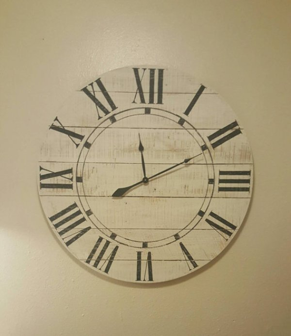do it yourself wood clock