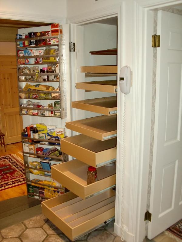 diy kitchen storage shelves