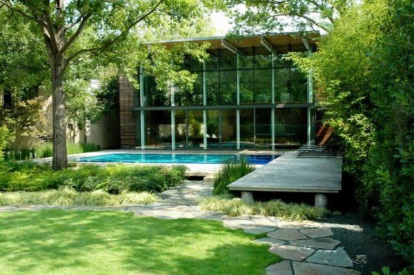 modern home gardens plans