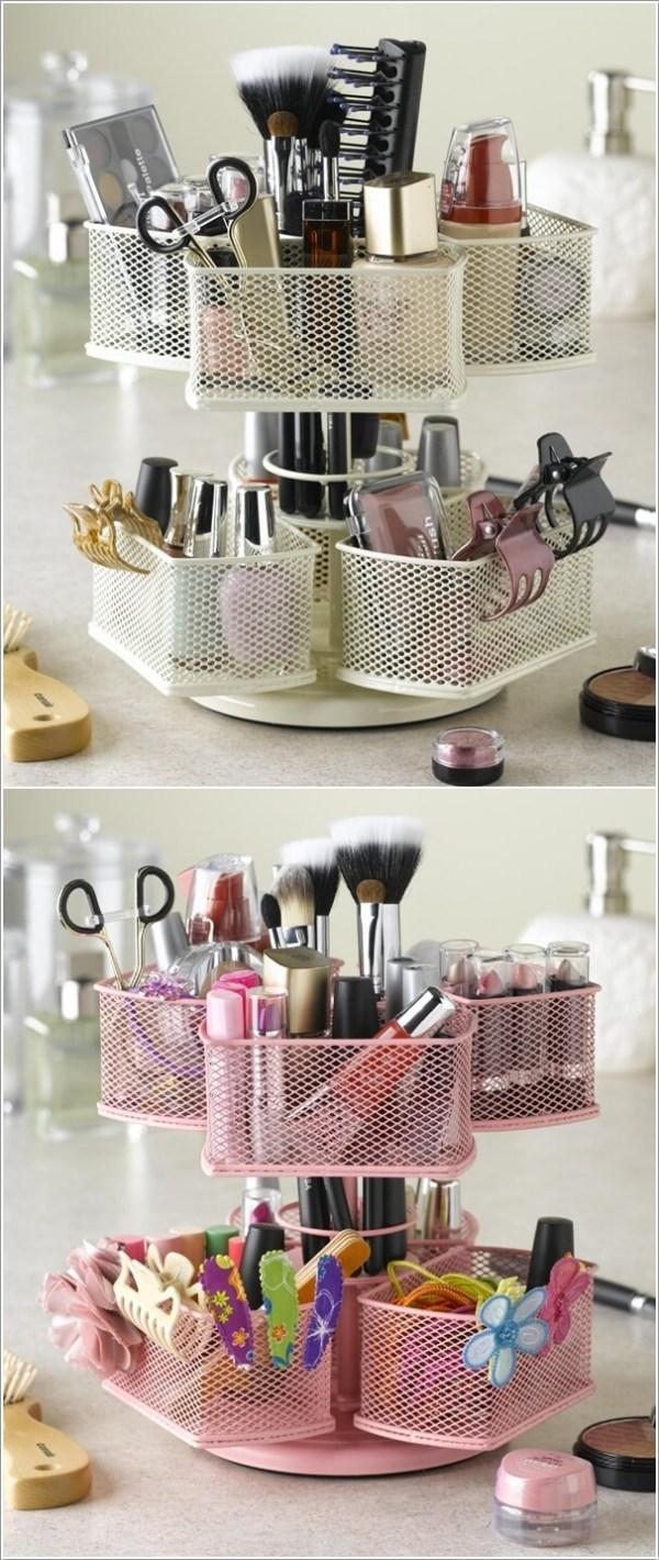 diy cosmetics storage