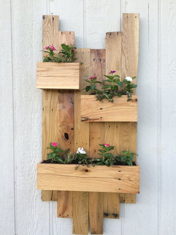 diy pallet planter designs