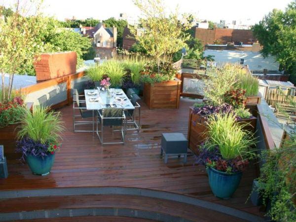 lovely terrace gardens ideas