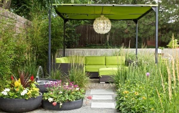 gardening at terrace