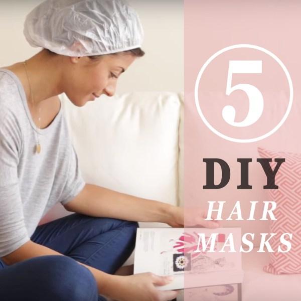 DIY aloe vera hair mask