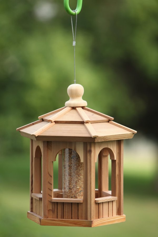 DIY window bird feeder