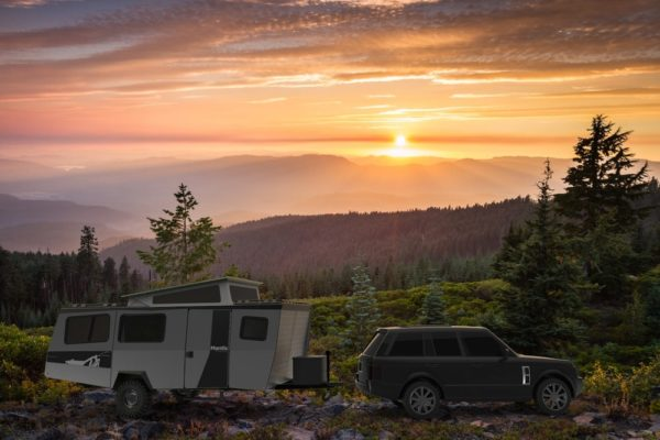 outdoor camping trailer