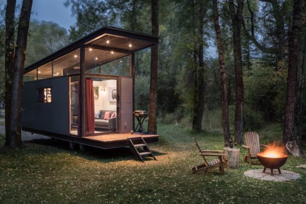 cheapest off grid tiny house