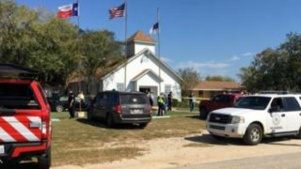 church shooting in Taxas