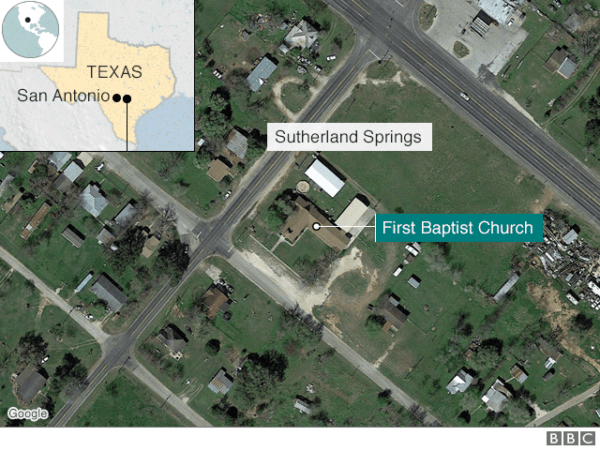 taxas church shooting
