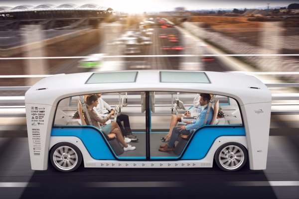 Rinspeed all electric mobility pod
