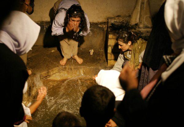 yazidi holiest tomb