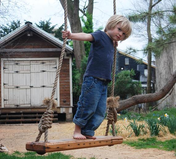 DIY tree swing