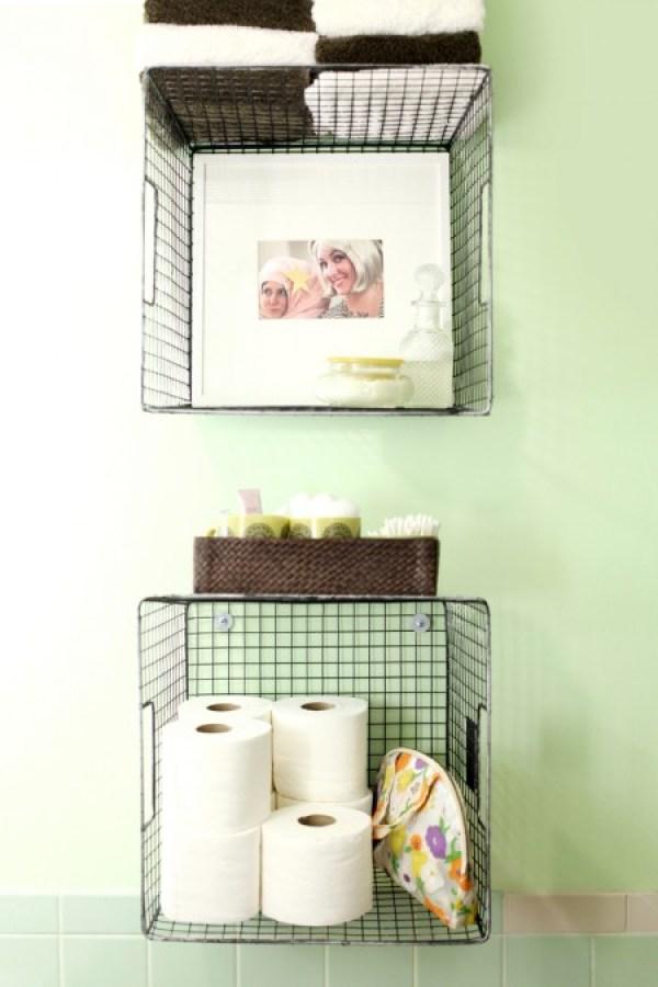 diy bathroom storage ideas