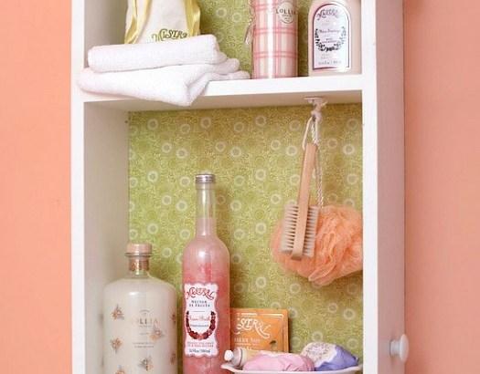 DIY bathroom storage plans