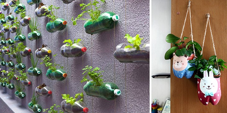 plastic-bottle-DIY-Planters