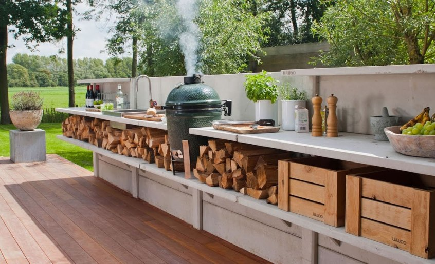 Outdoor Kitchen Cabinet