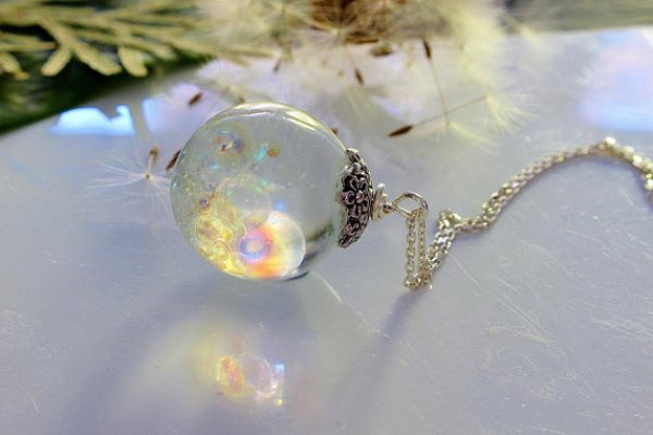 DIY FAIRY NECKLACE