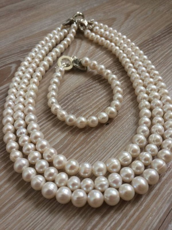 DIY PEARL NECKLACE DESIGNS