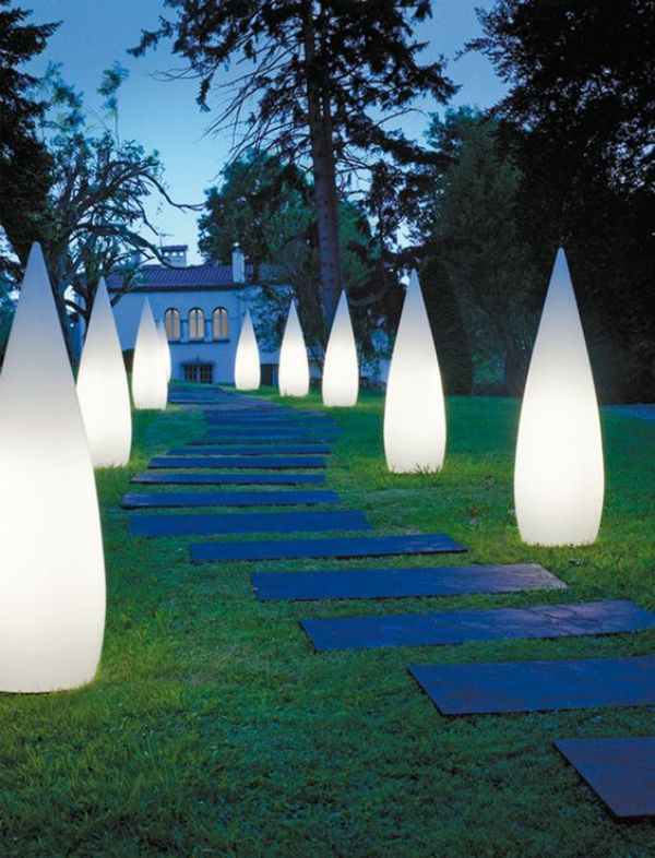 DIY outdoor lighting plans