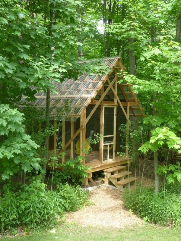 how to build a wooden cabin