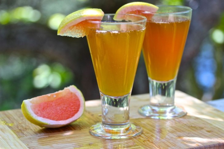 Grapefruit And Cinnamon drink