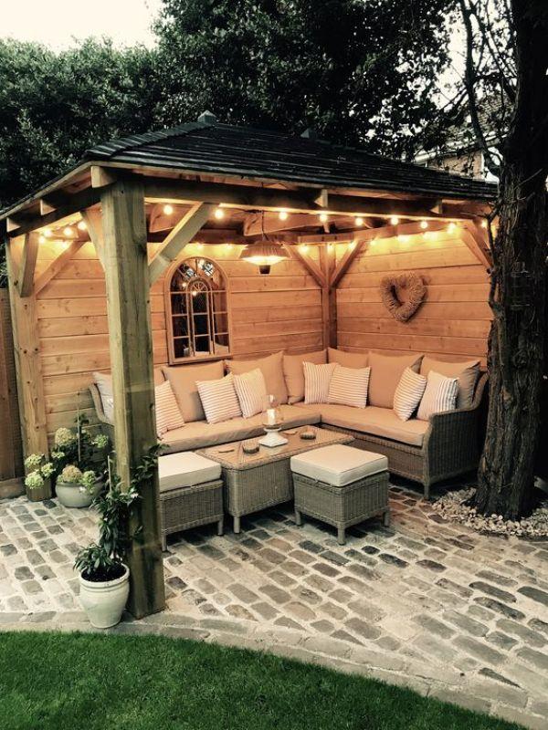 backyard seating ideas diy