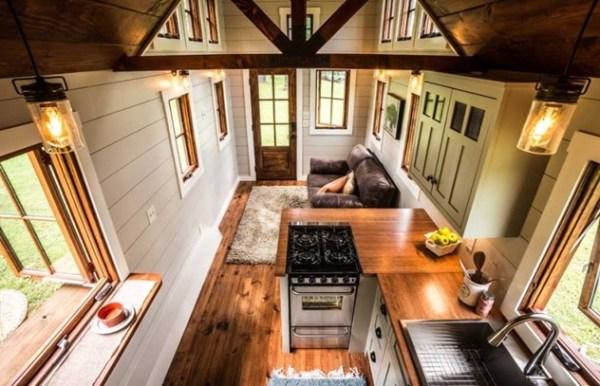 DIY TINY HOUSE ON WHEELS