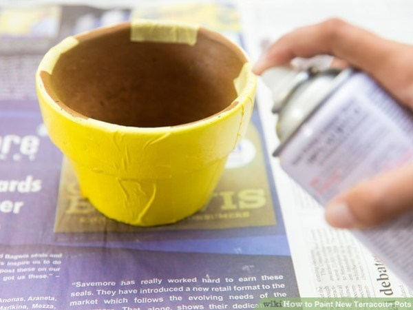 DIY CLAY POTS CRAFTS