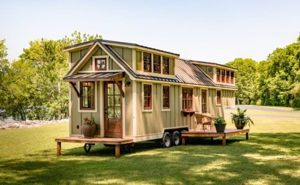 BEST TINY HOUSE ON WHEELS