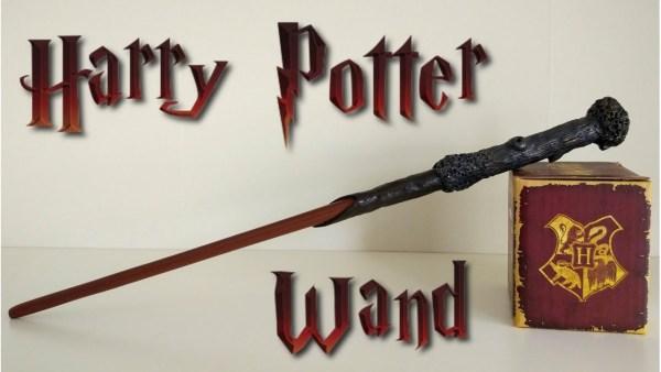 Harry Potter Wizard Wands DIY Crafts