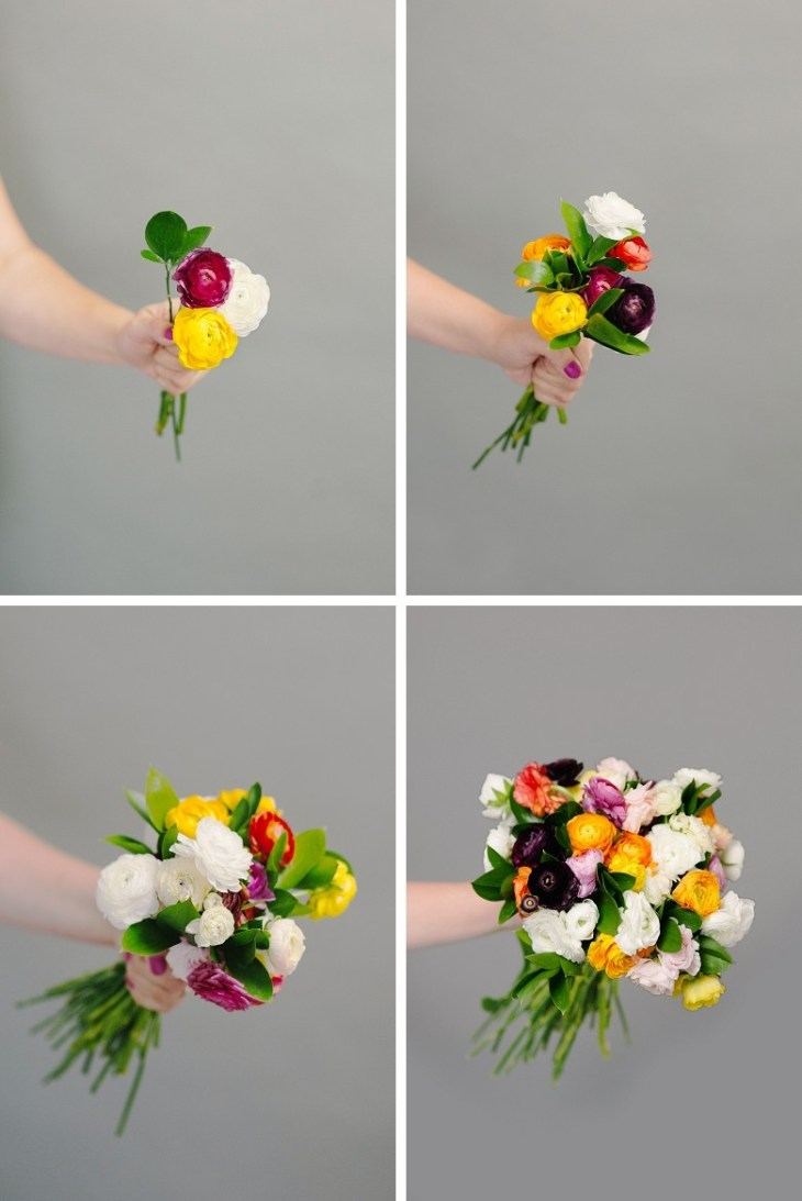 how to make DIY Wedding Bouquet