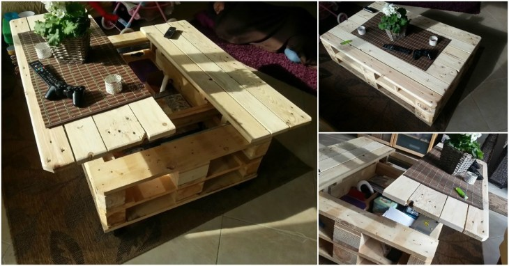 multi purpose pallet furniture