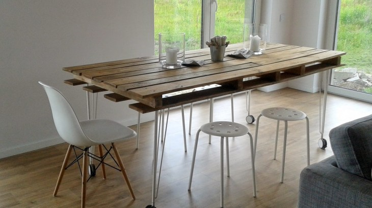 DIY Pallet Dining Table Ideas
