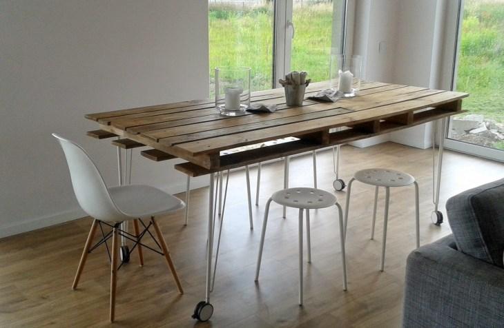 DIY Pallet Dining Table Ideas