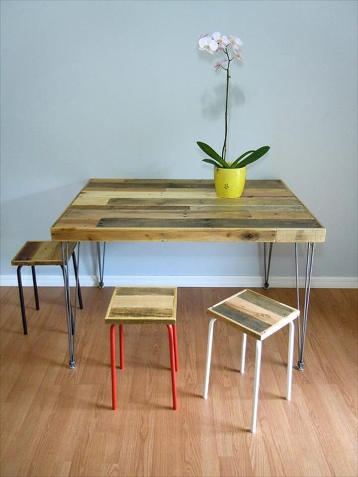handcrafted-pallet-dining-table-with-hairpin-legs